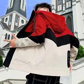 外套男士加絨加厚工裝夾克秋冬褂子韓版寬鬆青少年學生百搭風衣潮