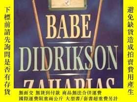 二手書博民逛書店勒納傳記系列:BABE罕見DIDRIKSON ZAHARIAS,