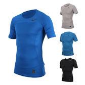 NIKE 男短袖針織衫 (慢跑 運動 T恤 短T≡體院≡