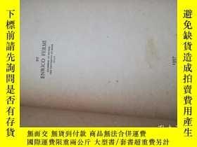 二手書博民逛書店罕見Thermodynamics(熱力學)Y146830 Enrico Fermi (Author) 看圖