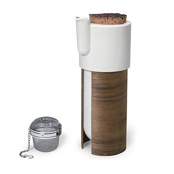 芬蘭 Tonfisk Tea / Coffee Pot 1.1L , Warm 系列 軟木 咖啡壺 / 茶壺