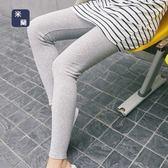 內搭褲-純棉純色綁帶舒適透氣女長褲3色73om23[巴黎精品]