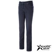 PolarStar 牛仔防風保暖褲 女 深藍 P14430
