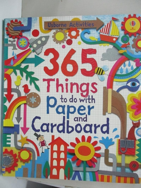 【書寶二手書T2/少年童書_KEB】365 Things to do with Paper and Cardboard