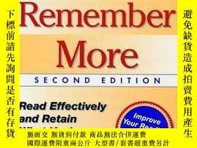 二手書博民逛書店Read罕見Better, Remember More, 2nd EditionY255562 Elizabe