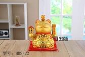 新款八方來財生意興隆土豪金雙用招財貓陶瓷工藝品YYS 朵拉朵