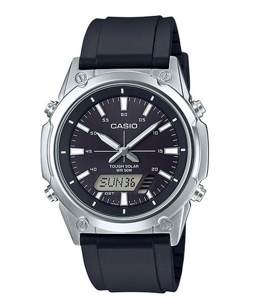 【CASIO宏崑時計】CASIO卡西歐太陽能運動雙顯錶 AMW-S820-1A 50米防水 台灣卡西歐保固一年