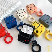 游戲機蘋果AirPods1/2無線耳機保護套硅膠收納盒【雲木雜貨】