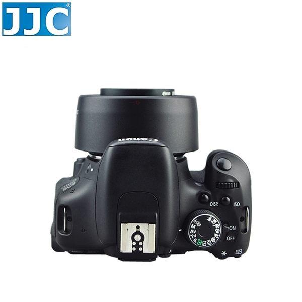 又敗家JJC佳能Canon副廠遮光罩ES-68太陽罩EF 50mm f/1.8 STM相容原廠Canon遮光罩1:1.8遮陽罩f1.8