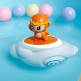 洗澡玩具會下雨云朵小猴子寶寶戲水玩具兒童浴室灑水花灑抖音同款