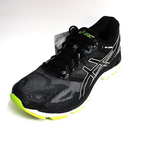 ASICS 亞瑟士 男 GEL-NIMBUS 19 慢跑鞋 運動鞋 高緩衝避震 亞瑟膠 T700N-9096 黑 黃[陽光樂活]