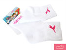 DIADORA★女性襪 粉色logo 白襪 (DASC1039)
