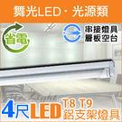 【有燈氏】舞光 LED T8 4尺 鋁支...
