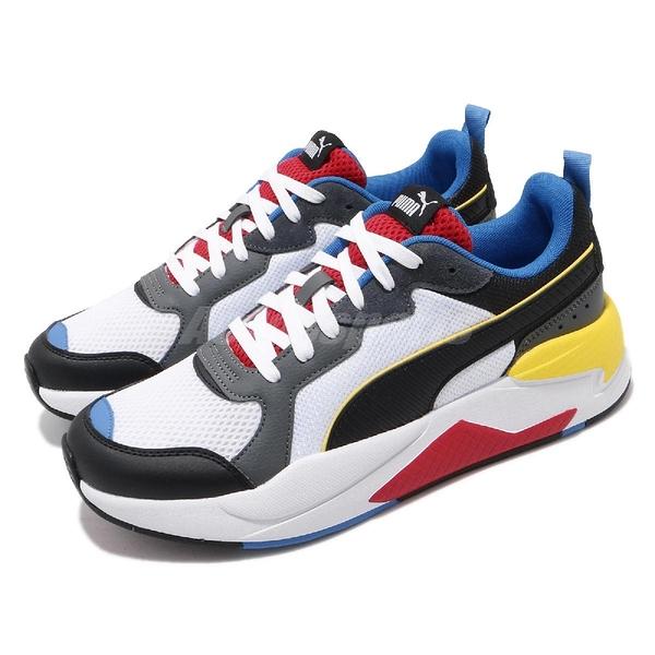 Puma 休閒鞋 X-Ray 白 黑 彩色 男鞋 運動鞋 【PUMP306】 37260203