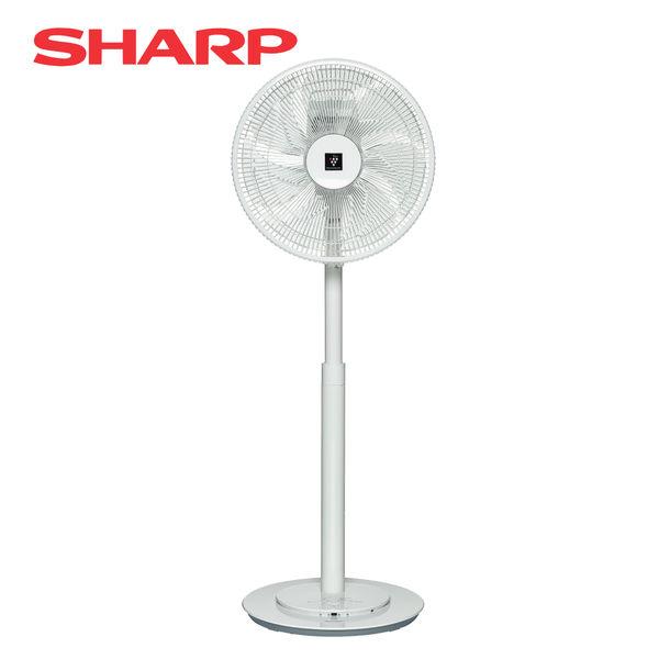 SHARP夏普 14吋旗艦型自動除菌離子DC變頻立扇 PJ-H14PGA