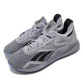 Reebok 訓練鞋 Nano X Hero 灰 黑 男鞋 多功能 運動鞋 CrossFit專用 【ACS】 FX7950