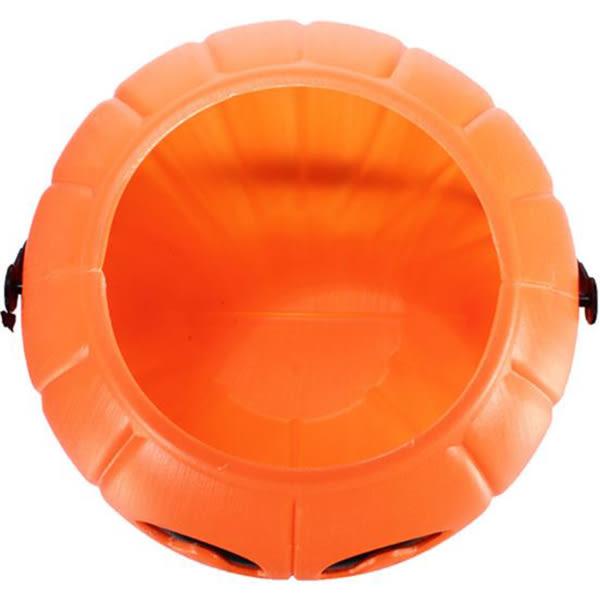 萬聖節 佈置 裝飾 塑膠提桶6入-迷你南瓜