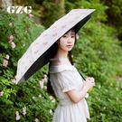折疊防紫外線遮陽傘 三折雨傘 小P V2205