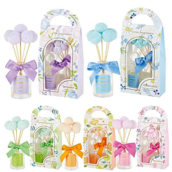 日本 小動物 香氛組 擴香瓶 30ml Room fragrance 日本正版 該該貝比日本精品 ☆