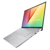 華碩 VivoBook14   S412FL-0105S8265 14吋窄邊框輕薄筆電 冰河銀