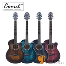 Comet C-465 切角民謠吉他 附贈Pickx2、移調夾、背帶、吉他袋 【木吉他/自彈自唱必備/C465】
