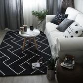 北歐地毯臥室客廳門墊滿鋪可愛房間床邊茶幾沙發辦公室長方形地墊 618大促 YTL