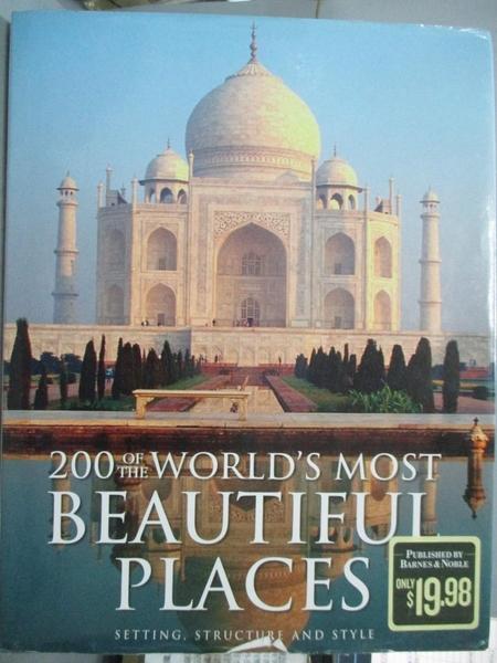 【書寶二手書T9/旅遊_QJQ】200 of the World s Most Beautiful Places_Bar