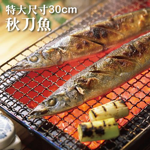 ☆特大秋刀魚☆4隻裝。日本料理代表性食材【陸霸王】