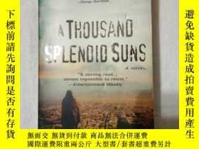二手書博民逛書店A罕見Thousand Splendid Suns(英文原版)Y