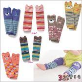 嬰兒襪子動物造型保暖純棉可愛襪套 -兒童爬行襪-321寶貝屋