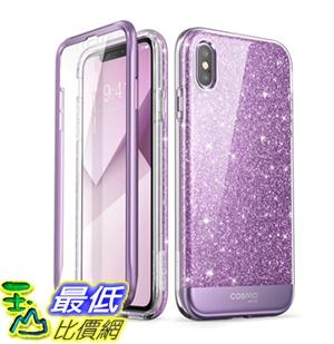 iPhone Xs Max Case, i-Blason [Cosmo] Full-Body Bling Glitter Sparkle Clear Bumper B07JPDPSWJ