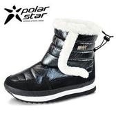 PolarStar 女 保暖雪鞋│雪靴『黑』 P15616