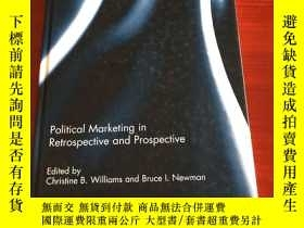 二手書博民逛書店Political罕見Marketing in Retrospective and ProspectiveY2