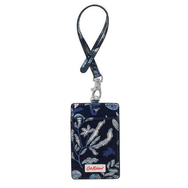 【Cath kidston】MAGICAL MEMORIES 證件夾(藍)
