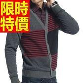 長袖毛衣休閒典型-舒適隨意假兩件式男襯衫 3色59ac49[巴黎精品]