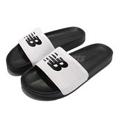 New Balance 涼拖鞋 1101 男女款 白 黑 夏日必備 基本款 NB 拖鞋 【ACS】 SD1101GBWM
