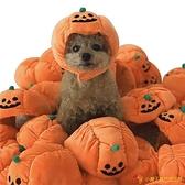 寵物南瓜帽子泰迪狗裝扮頭飾搞笑搞怪貓咪頭套萬圣節【小獅子】