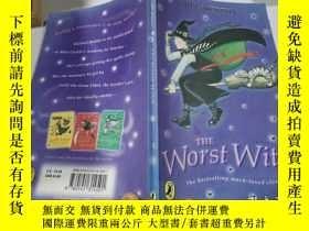 二手書博民逛書店the罕見worst witch最壞的女巫Y212829 不祥 不祥