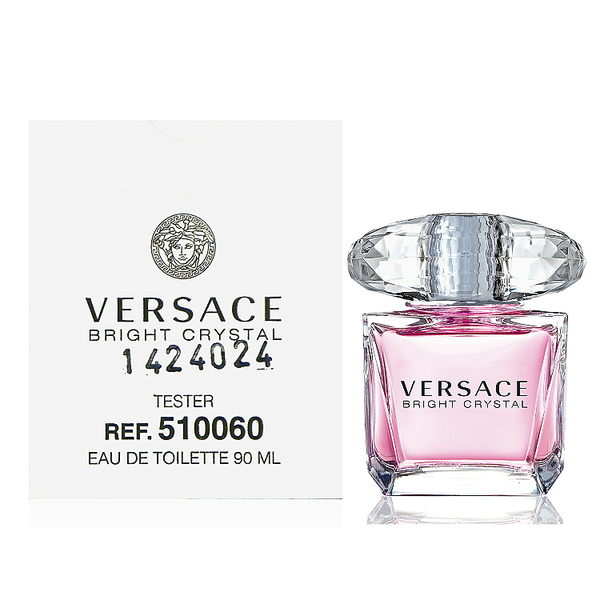 Versace Bright Crystal 香戀水晶淡香水 90ml Tester 包裝