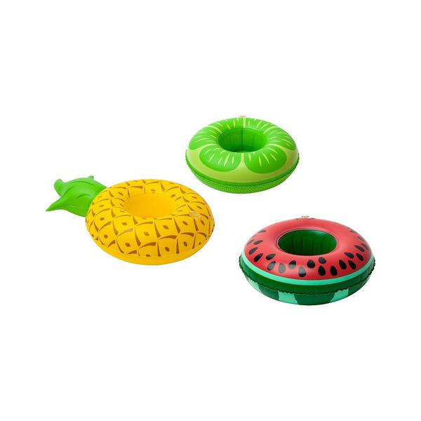美國【BIGMOUTH】三種水果飲料杯游泳圈 fruits