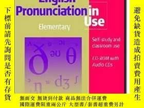 二手書博民逛書店English罕見Pronunciation In Use Elementary Book With Answer