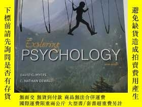 二手書博民逛書店Exploring罕見Psychology Tenth Edit
