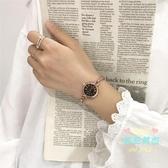 女士手錶 閨蜜手鍊手錶女小巧中學生簡約韓版百搭復古鍊條氣質小錶盤學院風 4色
