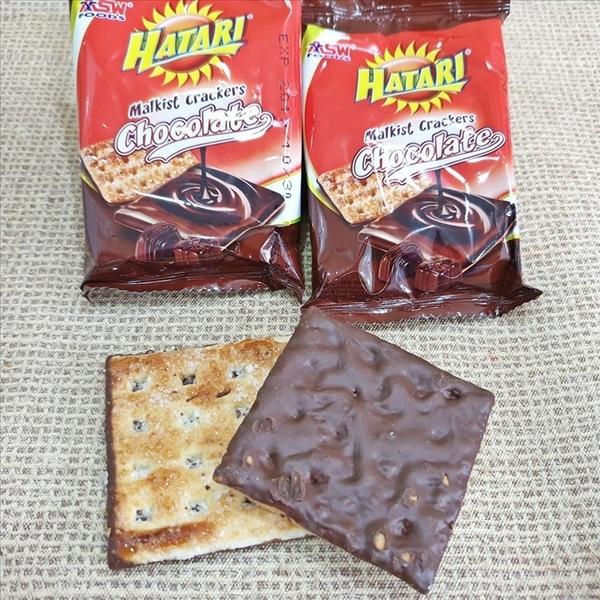 香濃厚醬巧克力脆餅 288g【9555622109811】(印尼零食)