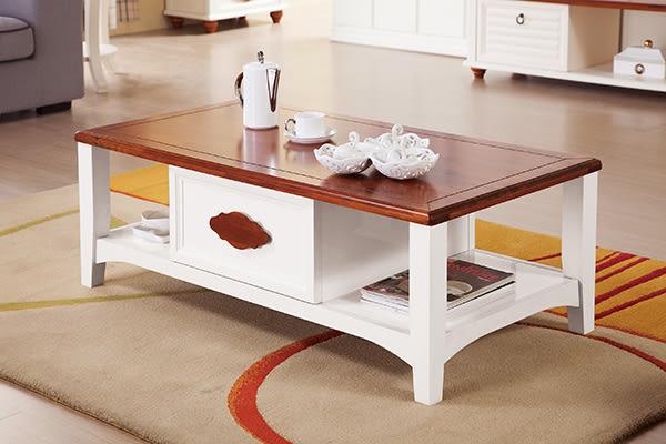 【南洋風休閒傢俱】茶几系列-  收納 實木桌 造型桌 抽屜桌 波蘭大茶几(JH531-3)
