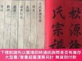 二手書博民逛書店罕見福建地區宣統年徐氏家譜,松源徐氏,卷首一冊,內容豐富,有大量組