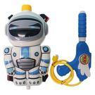 太空勇士 機器人背包水槍 043-45 槍長27cm/一個入(促199) 後背式水槍 兒童背包式水槍 加壓水槍-
