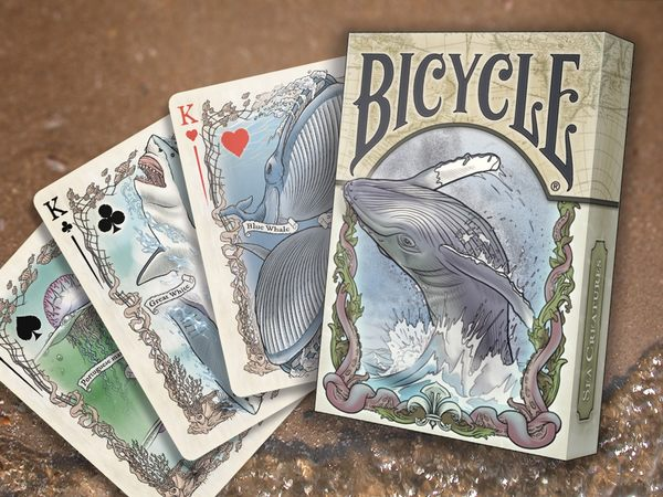 【USPCC 撲克】SEVEN SEAS creature colorized playing cards