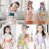 女童夏季日式和服中大兒童和服浴衣連衣裙日本洋裝【奇趣小屋】