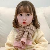 兒童圍巾 兒童圍巾秋冬季韓版男女童脖套針織毛線寶寶女孩保暖圍脖潮【快速出貨八折下殺】
